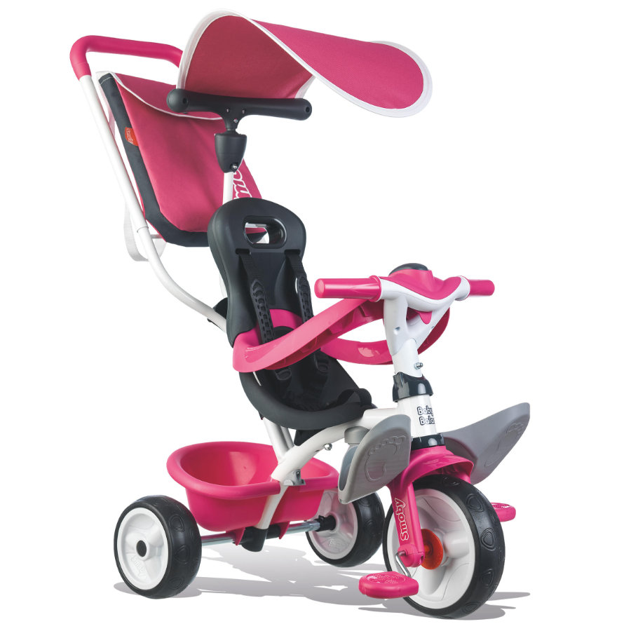 Smoby Triciclo Baby Balade Pink