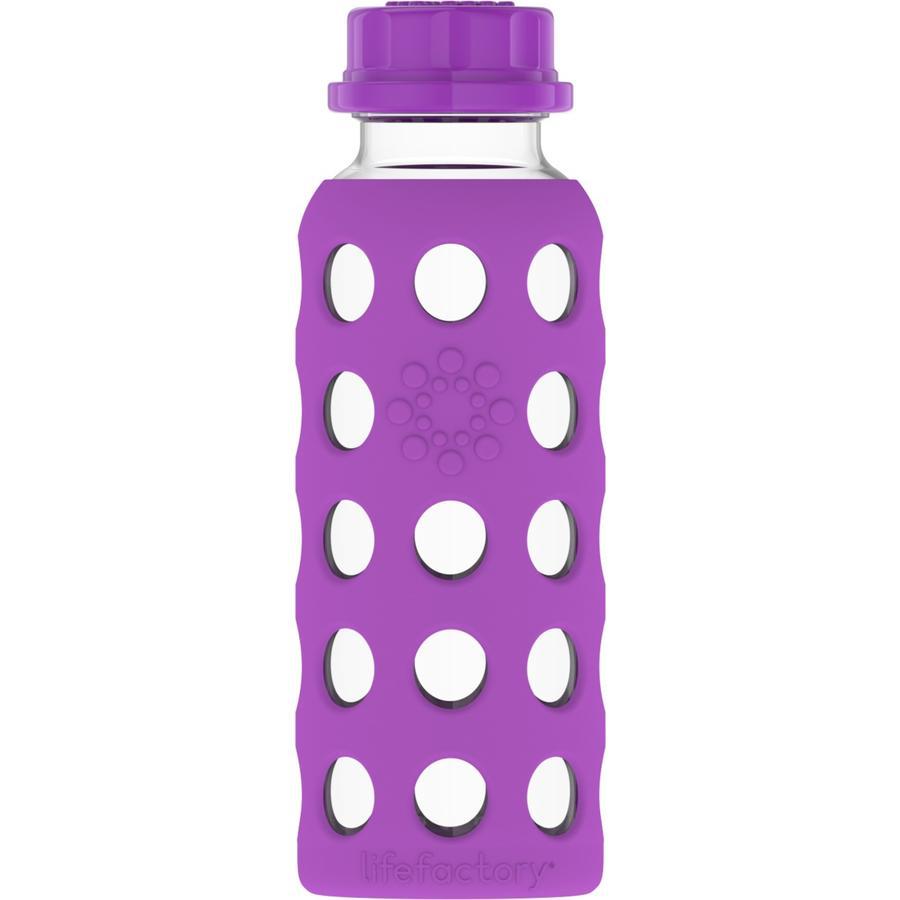 LIFEFACTORY Glas-Kinderflasche grape 250 ml