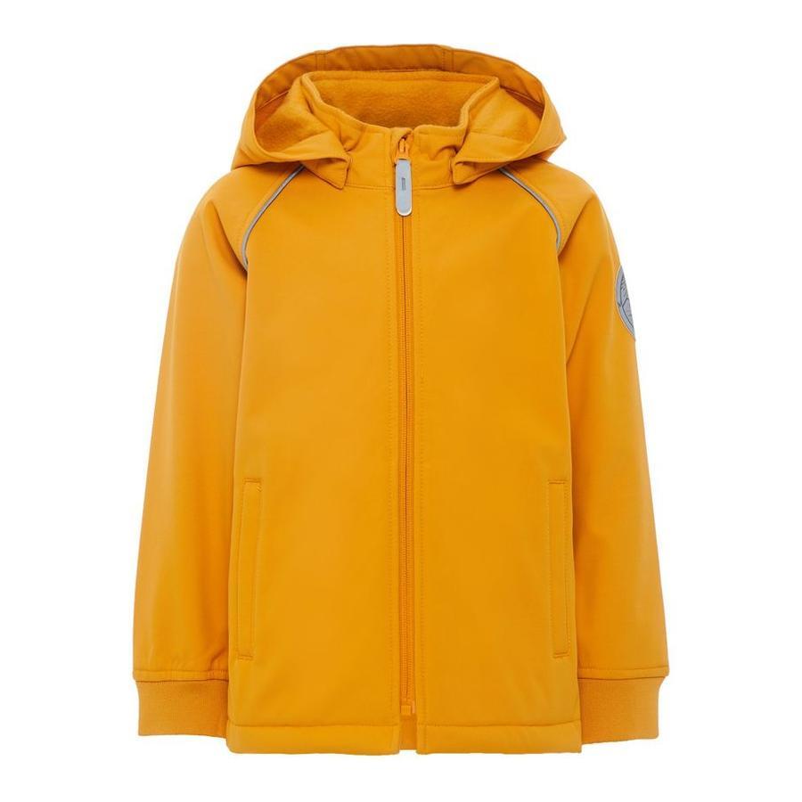 name it Girls Jacke Malta golden orange