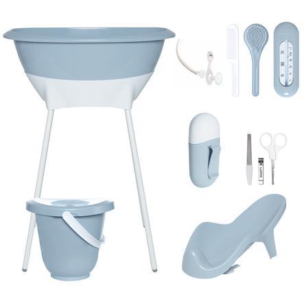 Luma Babycare Kit Bain Baignoire Sur Pieds Bebe Bleu Ciel