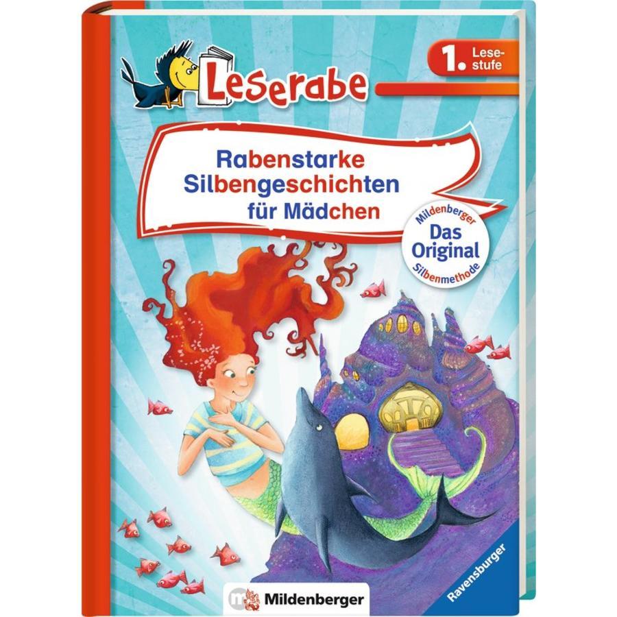 Ravensburger Leserabe 1. Lesestufe: Rabenstarke Silbengeschichten für Mädchen