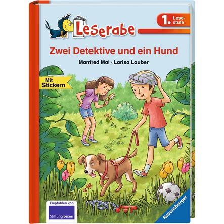 Ravensburger Leserabe 1. Lesestufe: Zwei Detektive und ein Hund