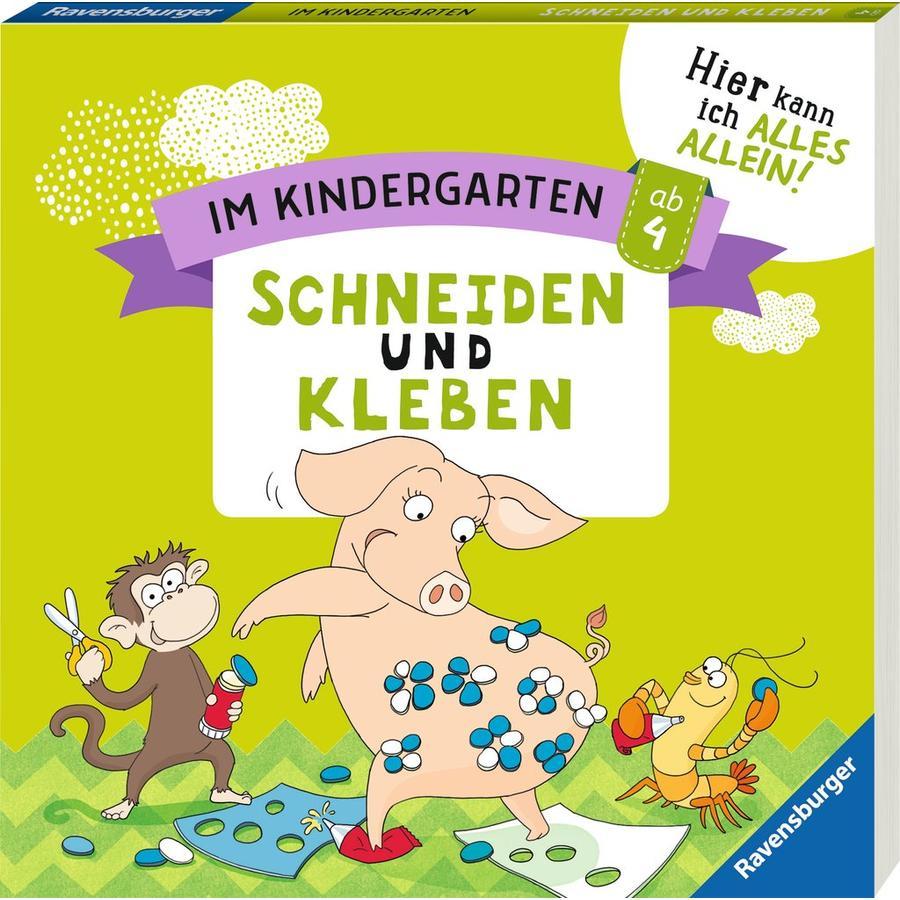 Ravensburger Im Kindergarten: Schneiden und Kleben