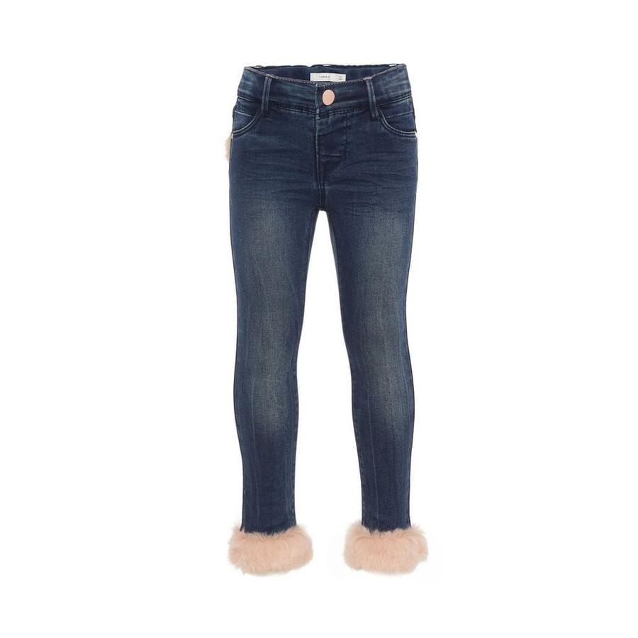 name it Girls Jeans Nmfpolly dark blue denim