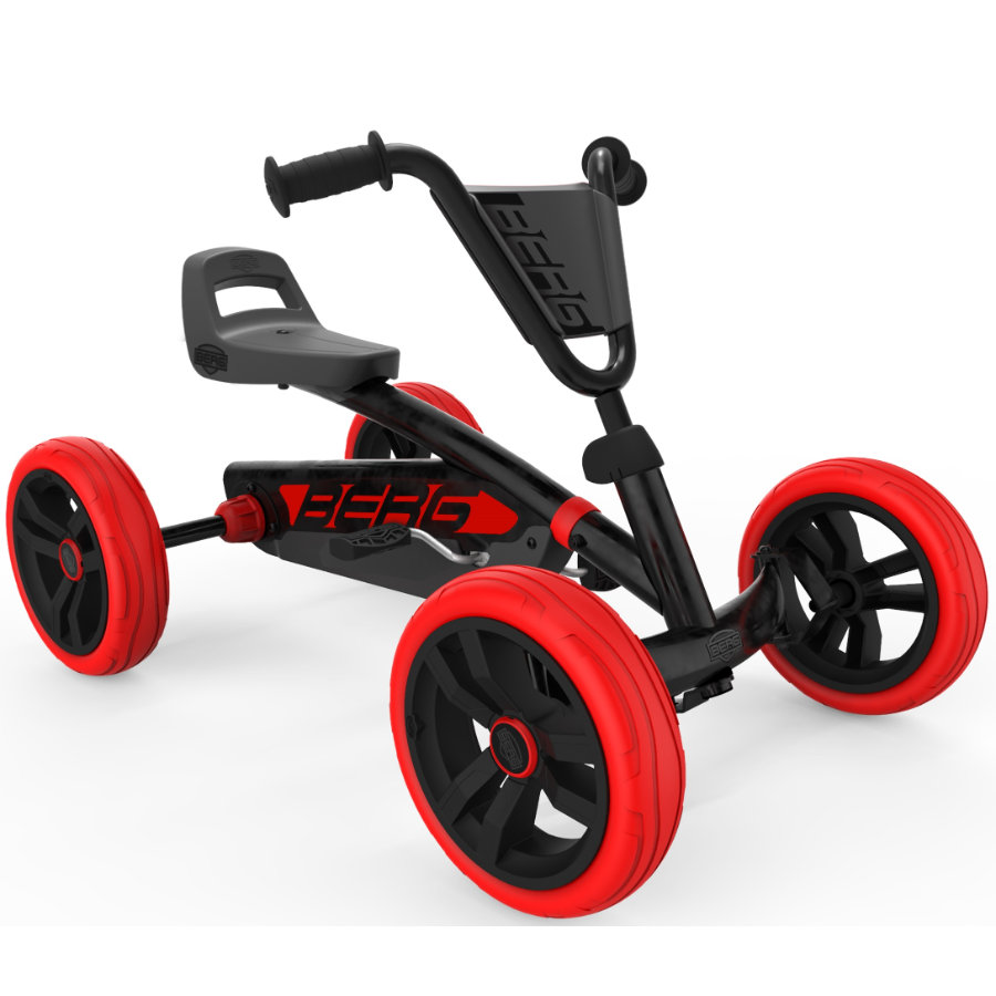 BERG Toys Pedal Go-Kart Buzzy Red-Black Special Edition