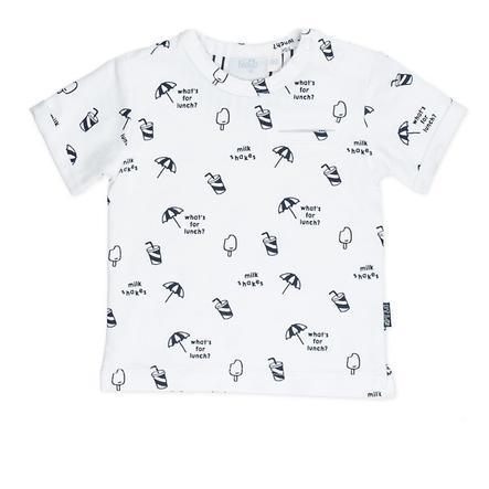 Feetje T-Shirt Kapitan chłodno-biały wzorzysty.
