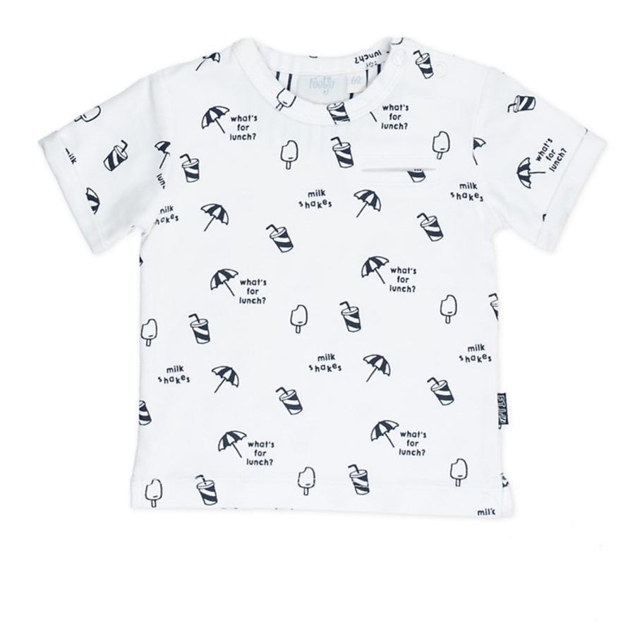 Feetje T-Shirt Captain cool weiß gemustert