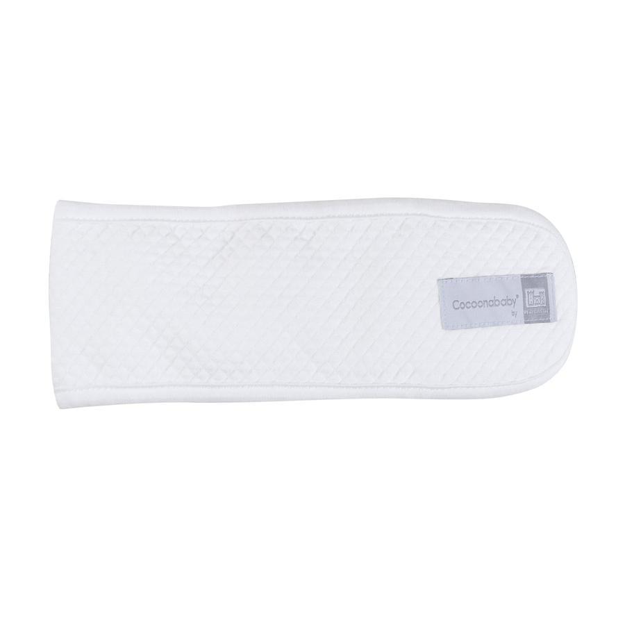 ČERVENÝ HRAD Náhradní břišní popruh pro Cocoon ababy®-Fleur de coton® bílý