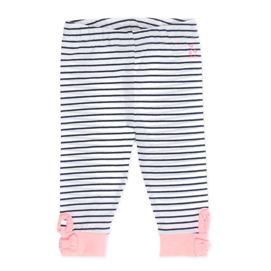 Feetje Leggings Ringel Cherry sweet marine