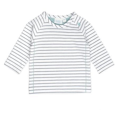 Feetje Strepen shirt met lange mouwen glimlach wit