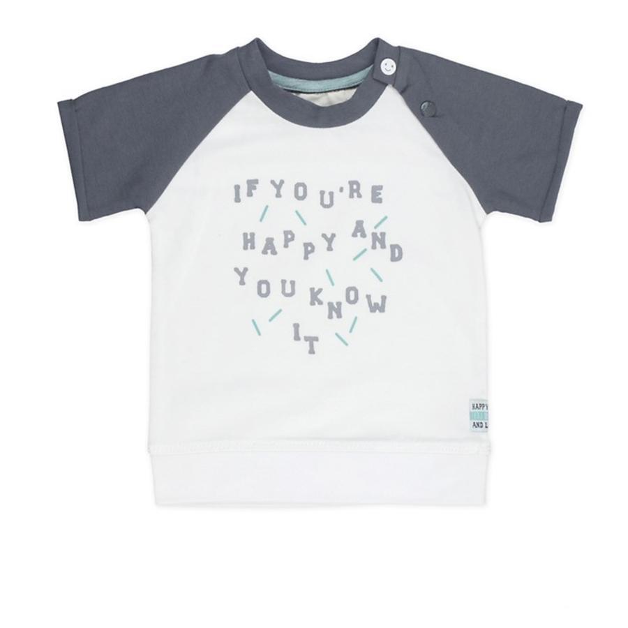 Feetje T-skjorte at du er så glad smilehvit