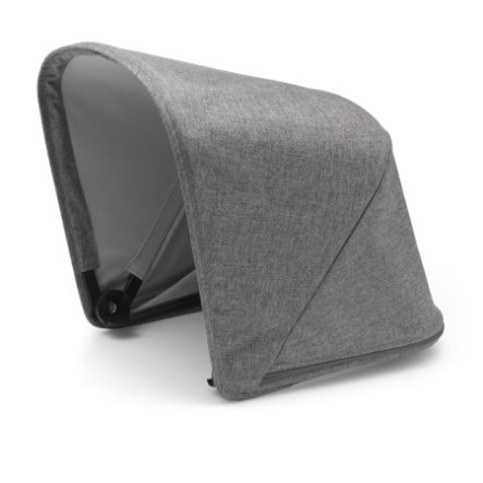 bugaboo utslagbar solkalesje Fox Grey Melange - Premium Collection