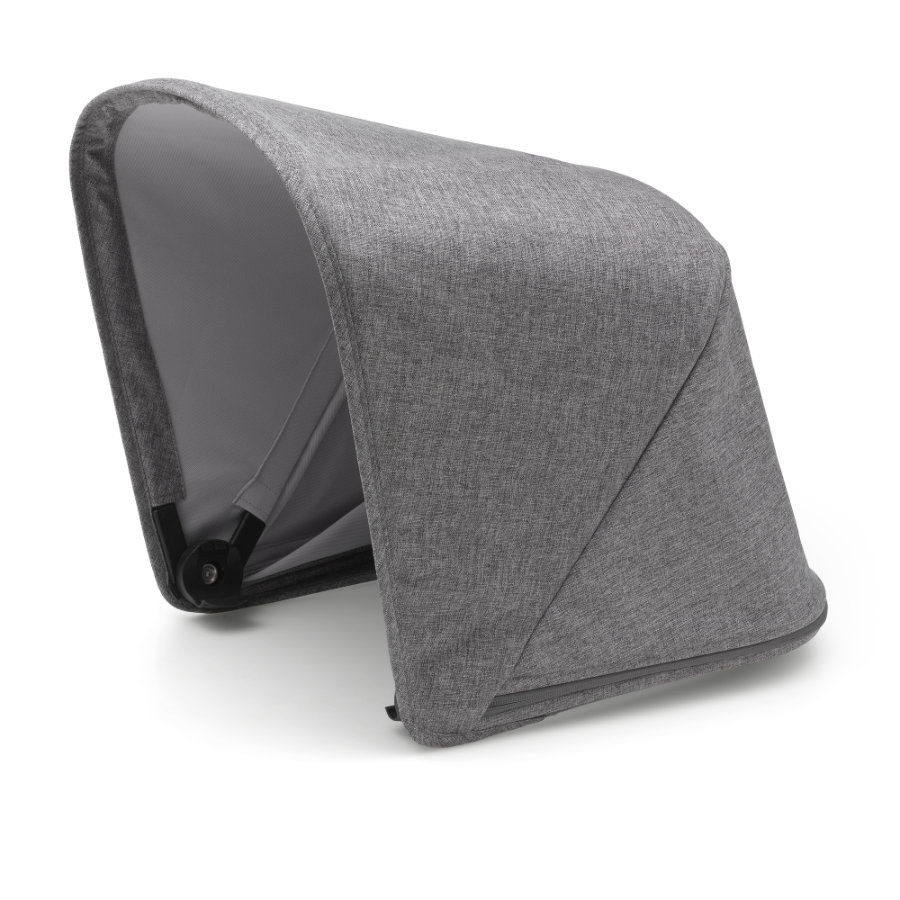 bugaboo erweiterbares Sonnendach Fox Grey Melange - Premium Collection