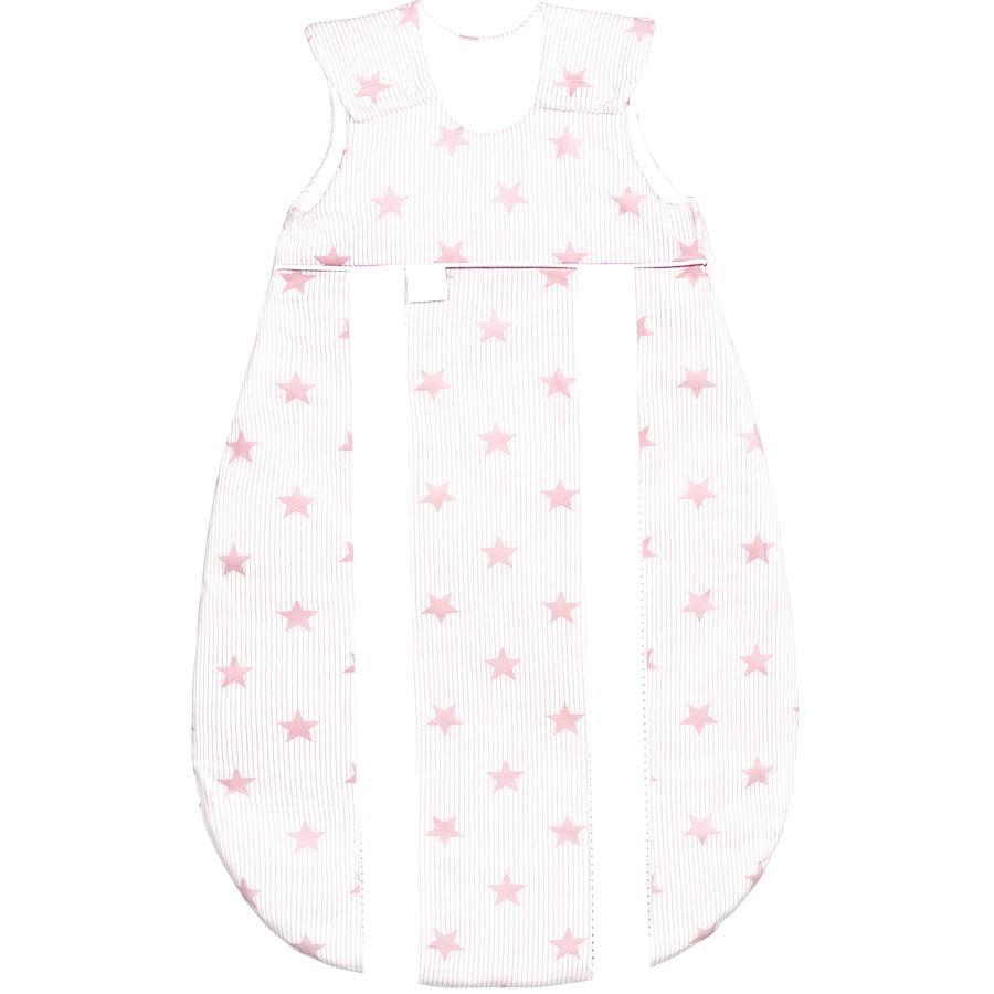 odenwälder Schlafsack Jersey Prima Klima stars candy pink  60 - 130 cm