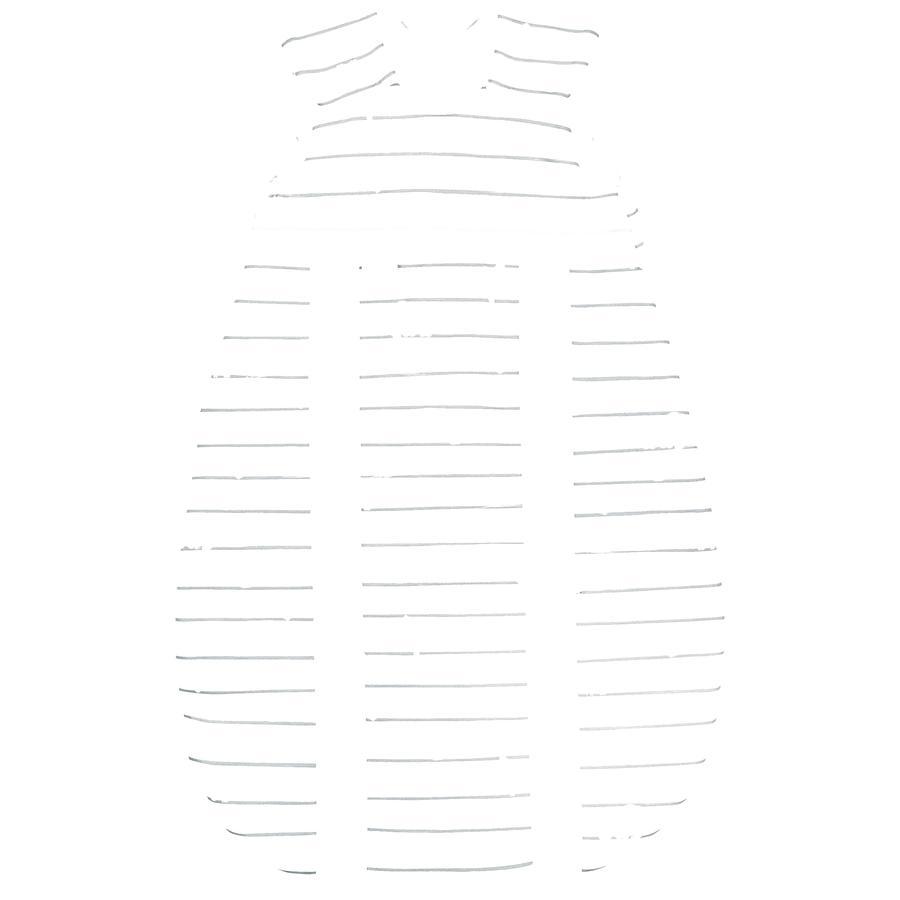 odenwälder Gigoteuse bébé Jersey Prima Klima safari light grey 60-130 cm