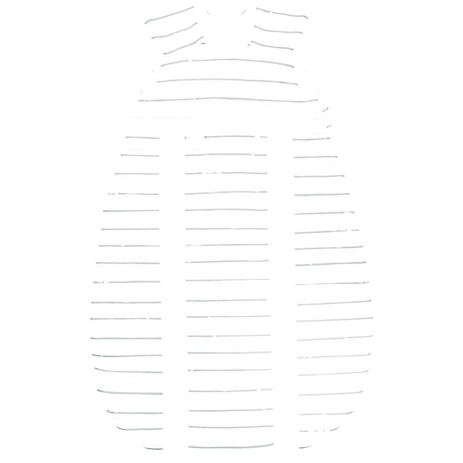 odenwälder Schlafsack Jersey Prima Klima safari light grey  60 - 130 cm