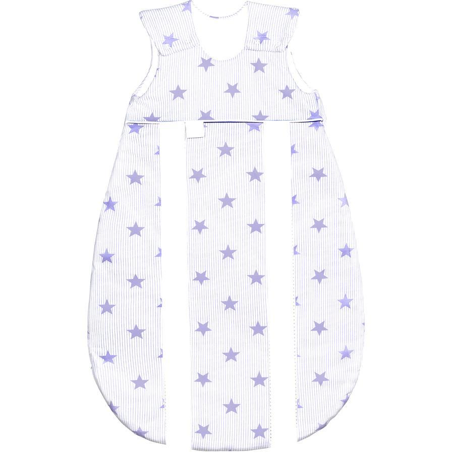 odenwälder Schlafsack Jersey Prima Klima stars soft violett 60 - 130 cm