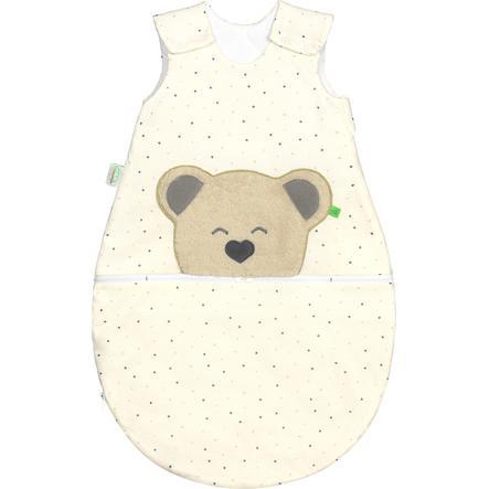 odenwälder Jersey slaapzak Mucki ® lucht heart/ star s  grey 60 - 110 cm