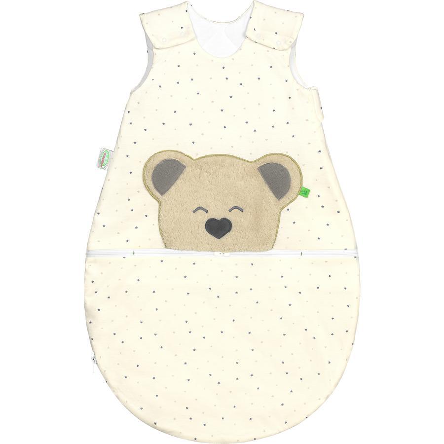 odenwälder Jersey sacco a pelo Mucki ® aria heart/ star s  grey 60 - 110 cm