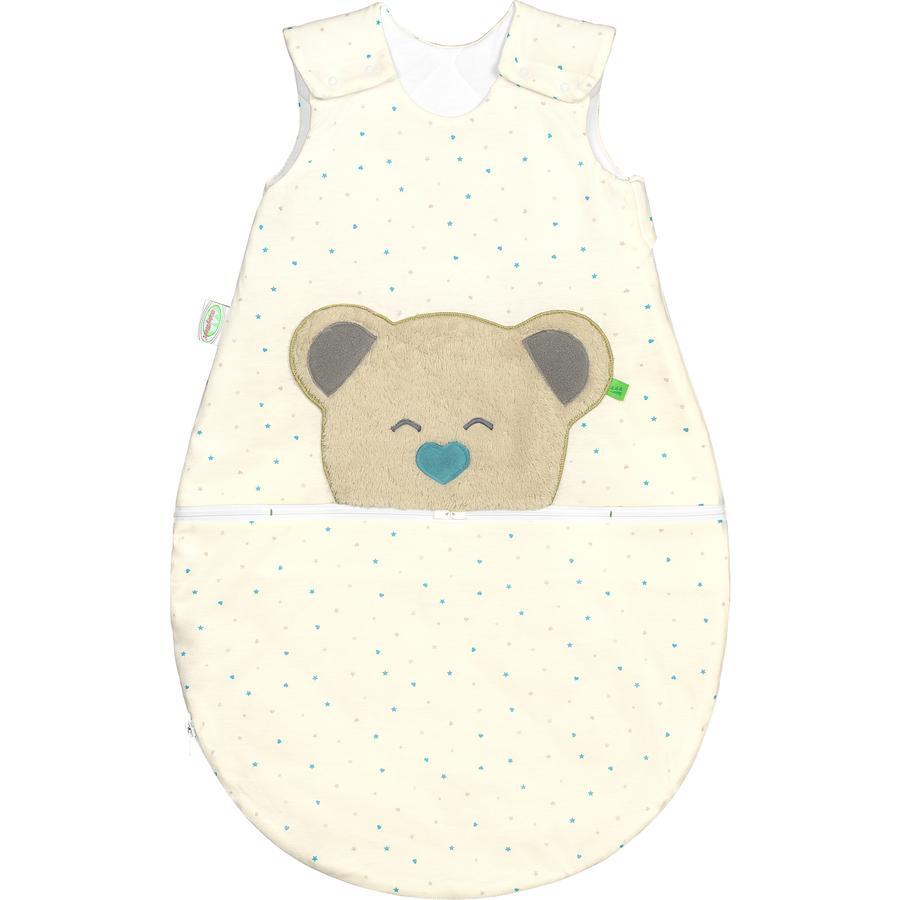 odenwälder Gigoteuse bébé Jersey Mucki® air heart/stars menthe 60-110 cm