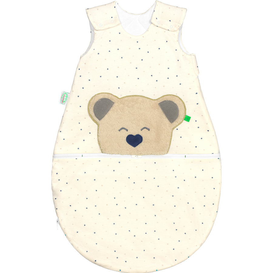 odenwälder Gigoteuse bébé Jersey Mucki® air heart/stars blue  60-110 cm