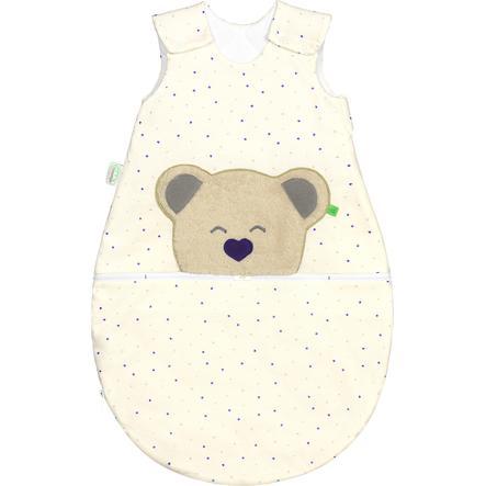 odenwälder Jerseyschlafsack Mucki® air heart/stars violett 60 - 110 cm