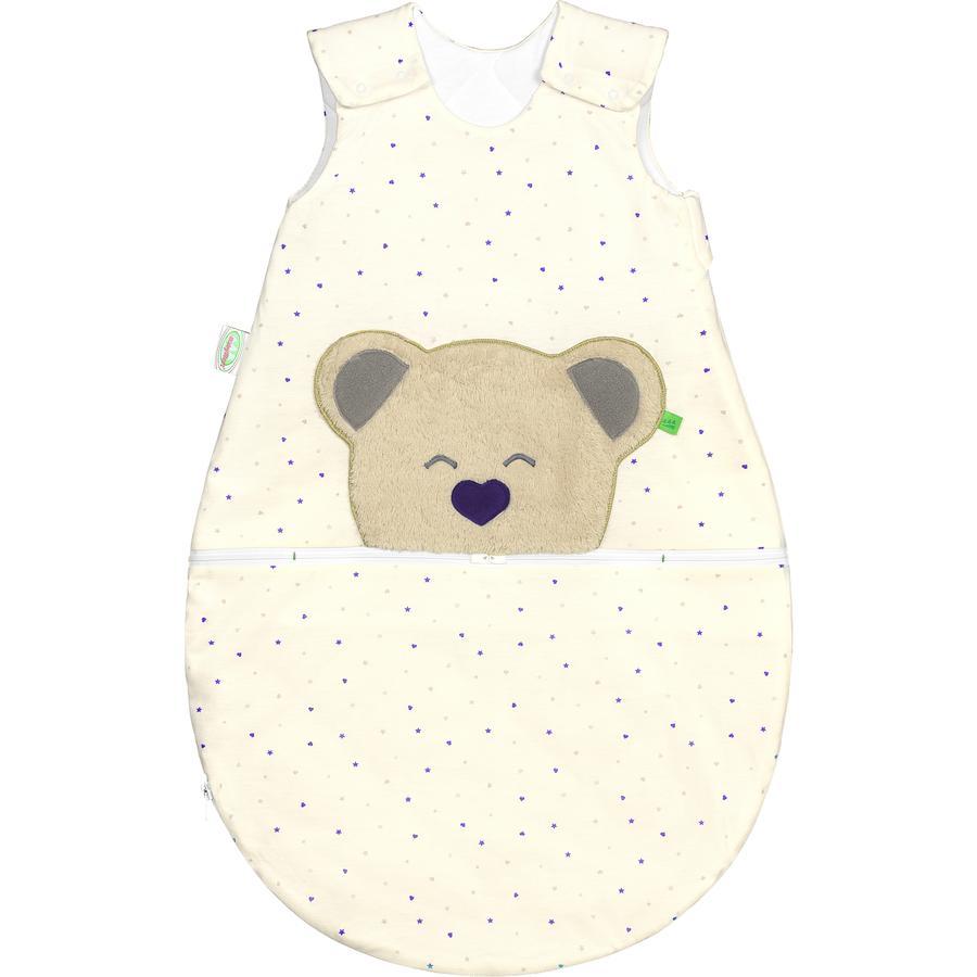 odenwälder Jerseysovepose Mucki® Air Heart / Stars violet 60 - 110 cm