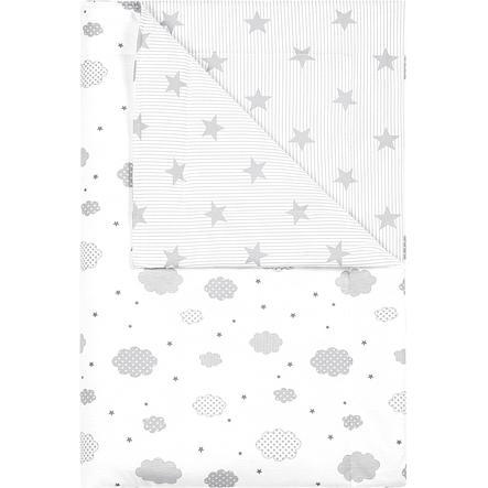 odenwälder Schmusedecke cloudy light grey 70x100cm