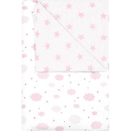 odenwälder Kosete teppe overskyet candy pink 70x100cm