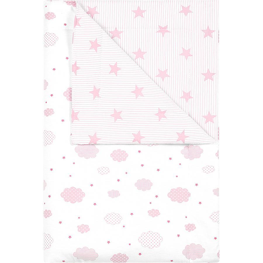 odenwälder Koc do przytulania cloudy candy pink 70x100cm