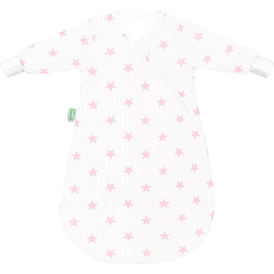 odenwälder Jersey Unterzieh-Schlafsack BabyNest candy pink