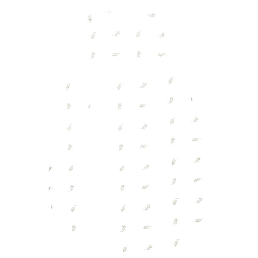 odenwälder Saco Jersey Prima de dormir clima mouse light grey 60 - 130 cm