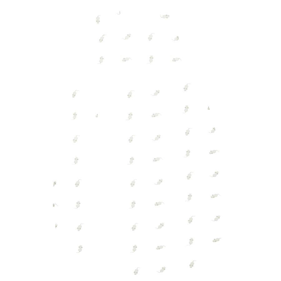 odenwälder Śpiweorek Jersey Prima Klimat mouse light grey 60 - 130 cm