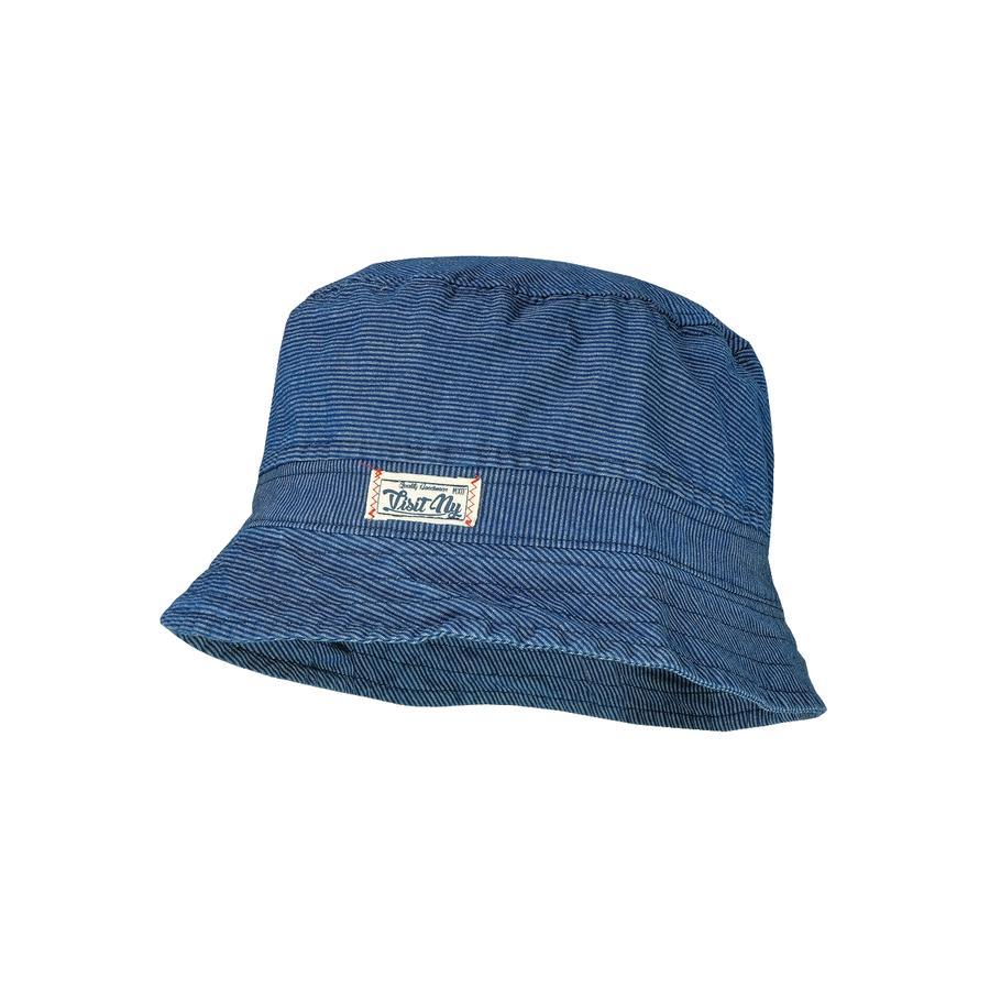 maximo Boys Sombrero rayas denim-blanco