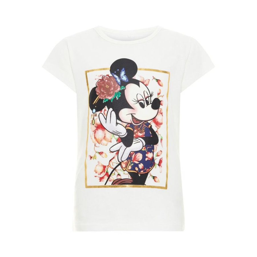 name it Girls T-Shirt Minnie Snow White
