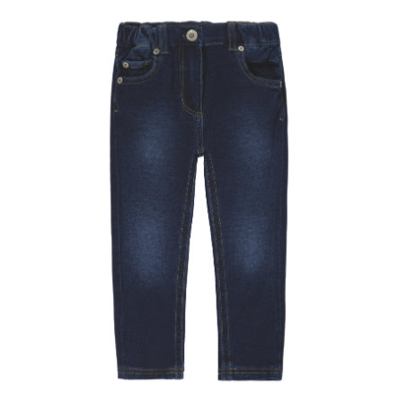 Steiff Girls Jeggings, blau