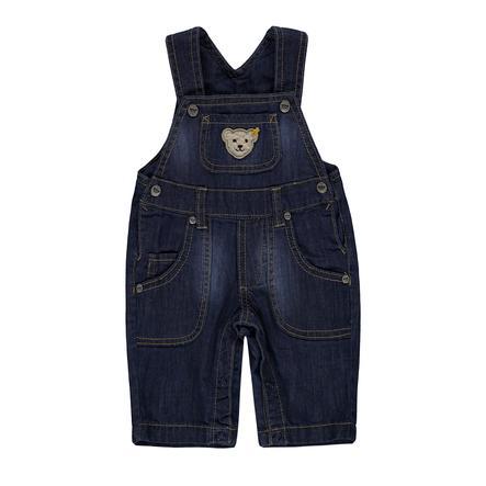 Steiff Boys Dungarees Jeans, niebieski.