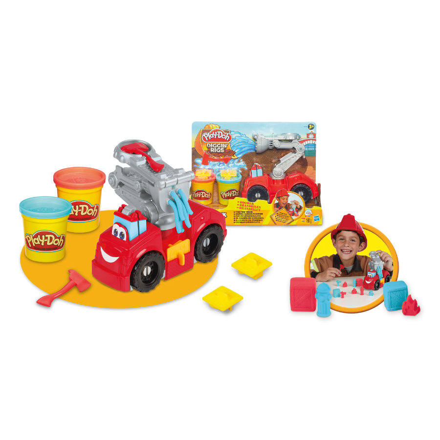 Play-Doh Party Boomer, de brandweerauto
