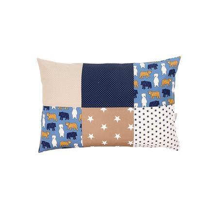 Ullenboom Patch cuscino di lavoro coprisedia 40 x 60 cm orso di sabbia