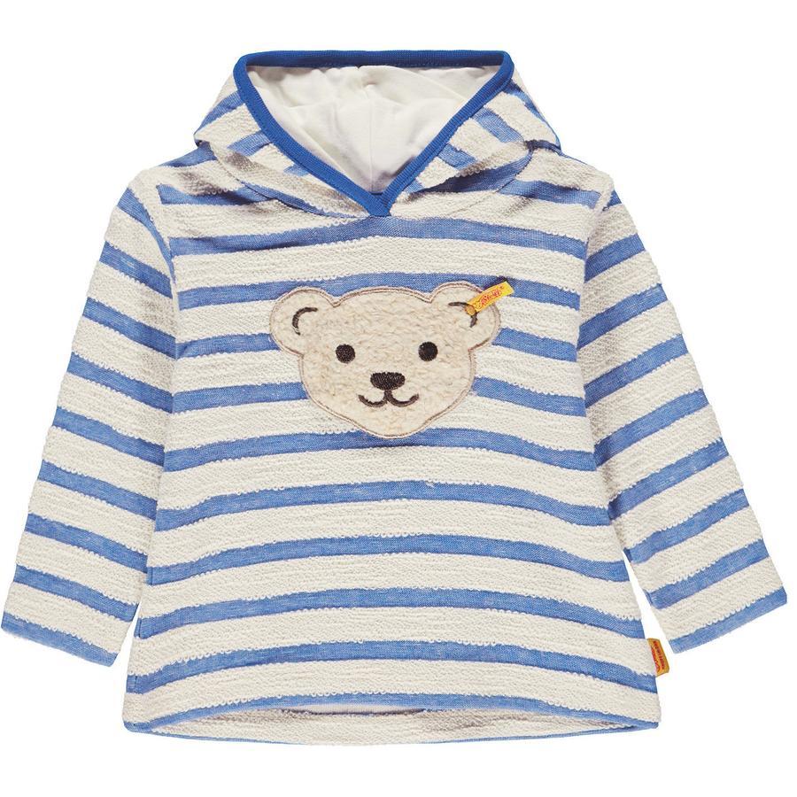 Steiff Boys Sweat-shirt, bleu
