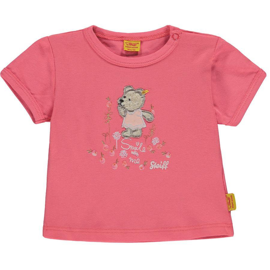 Steiff Girls T-Shirt, rosa