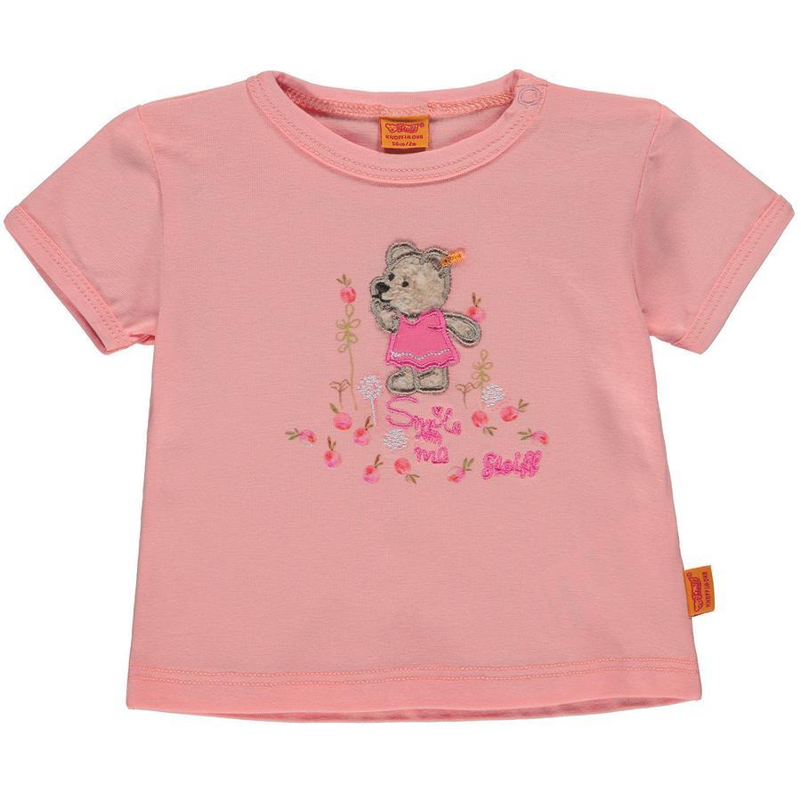 Steiff Girls T-Shirt, orange