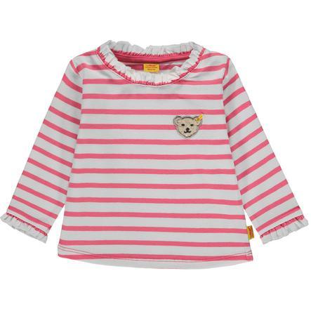 Steiff Girls Košile s dlouhým rukávem, růžová