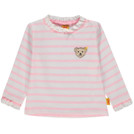 Steiff Girl koszula z długim rękawem, różowa