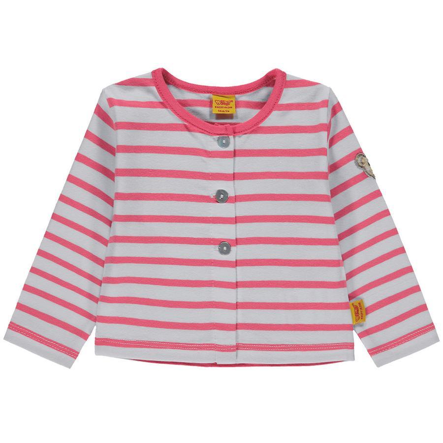 Steiff Girls Tepláková bunda, růžová