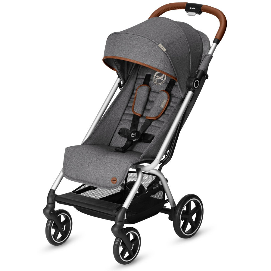 cybex Sittvagn Eezy S+ Denim Manhattan Grey