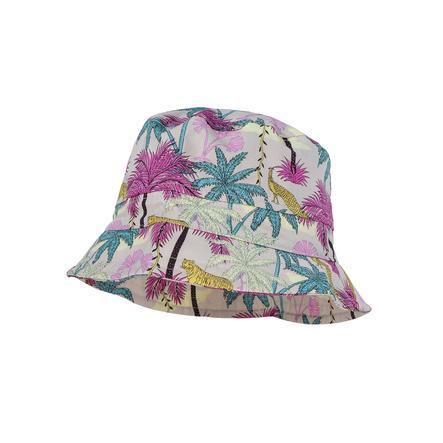 maximo Bob enfant anti-UV palmiers/animaux mauve-jaune