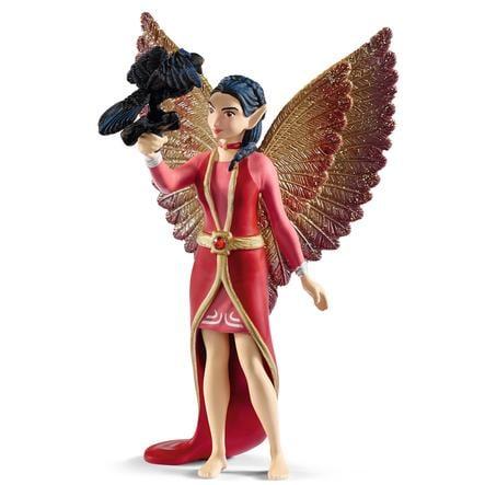 Schleich Figurine Nuray et corbeau Munyn Bayala le film 70586