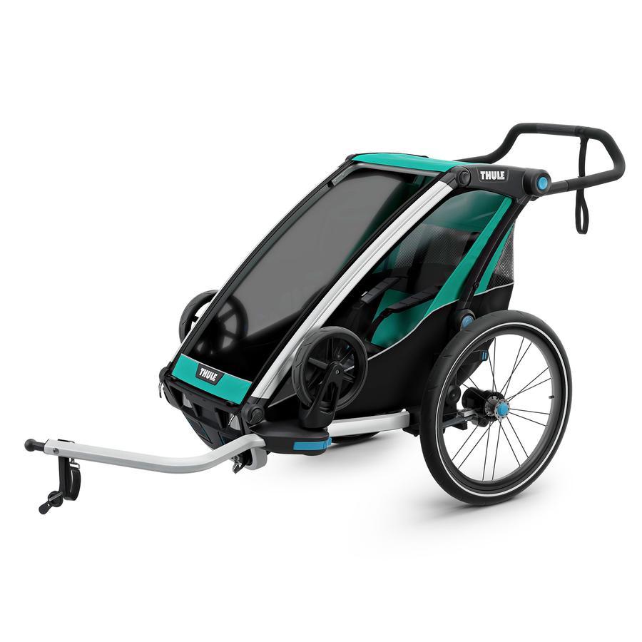 THULE Remorque de vélo enfant Chariot Lite 1 Bluegrass noir 2019
