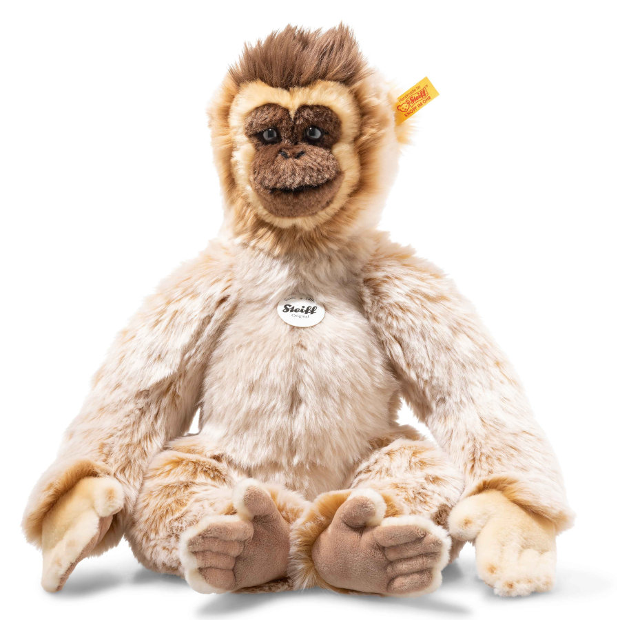 Steiff  Bongo Balançoire Gibbon National Geographic, 46 cm